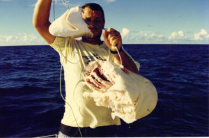 Shark fishing at Reunion island (source internet)